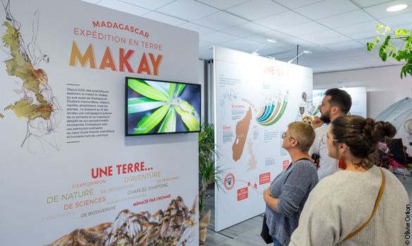Exposition Madagascar, expédition en terre Makay © Olivier Ortion